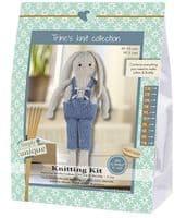 Go Handmade Knitting Kit LUKAS & BUDDY RABBITS